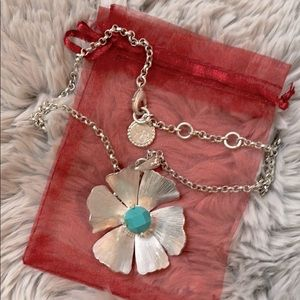 Jessica Simpson Turquoise necklace